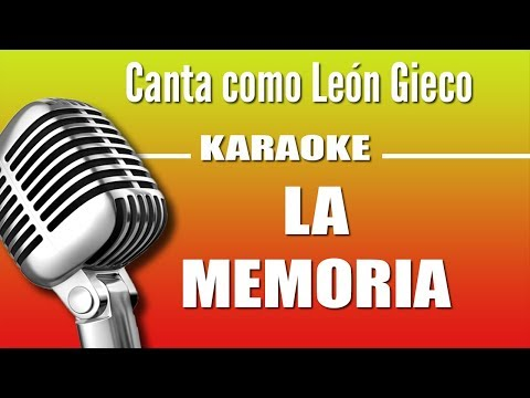 León Gieco - La Memoria - Karaoke Vision