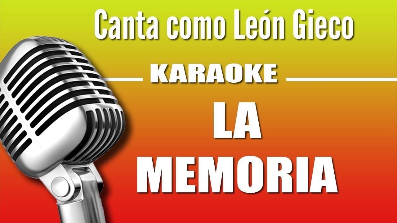 leon-gieco-la-memoria-karaoke-vision-karaoke-vision