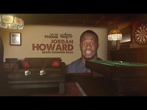 Chicago Bears RB Jordan Howard on The Dan Patrick Show | Full Interview | 10/16/17