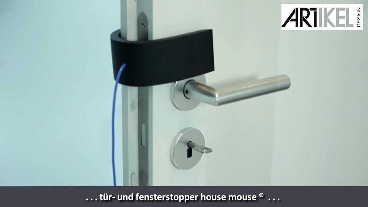 artikel design house mouse t r und fensterstopper youtube. Black Bedroom Furniture Sets. Home Design Ideas