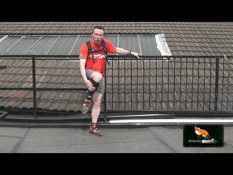 talking about running after a broken leg  stress fracture