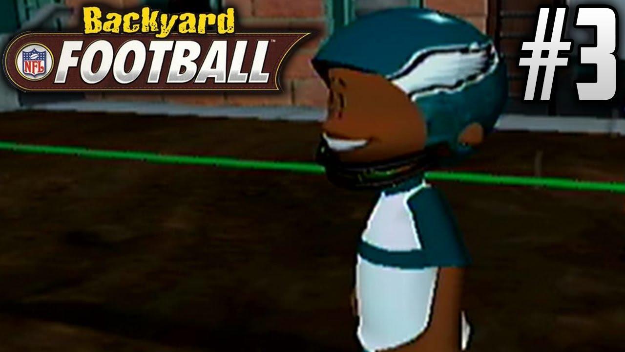 backyard football gamecube season mode ep3 ricky can u0027t