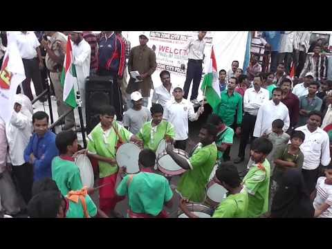Poorna and Anand of APSWREI success rally in Hyderabad Part 2 - 2