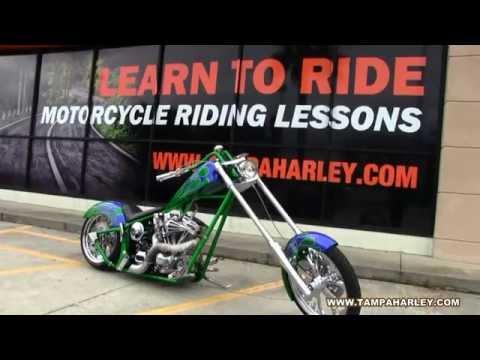 2003 Custom Chopper For Sale @ Harley-Davidson of Tampa - 동영상