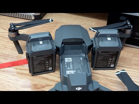 DJI Mavic Pro Battery Dust Covers