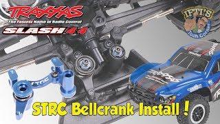 #07 Traxxas Slash 4X4 - Steering Upgrade Part 1/4 - STRC Bellcrank Install!