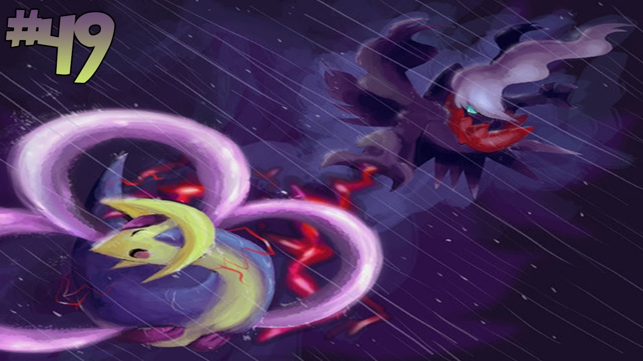 Fairy Tail Wallpaper Hd Pokemon Platinum Version Part 49 Darkrai And Cresselia