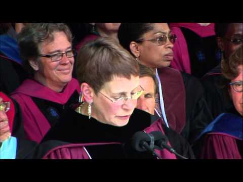 Commencement 2015: Constance Cain Hungerford