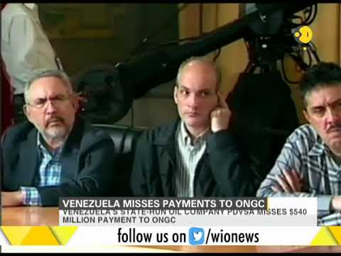 Venezuela misses payments to ONGC