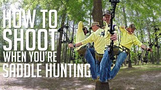 Is shooting from a saddle easier than a treestand?