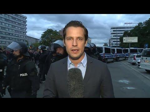 GEWALT UND HETZE: Ein schwieriger Abend in Chemnitz