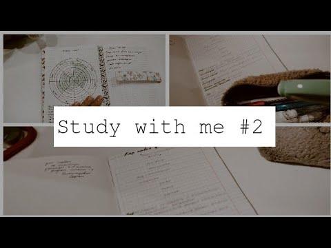 Study With Me#2/Productive Day/Study Motivation/Учись Со Мной/Продуктивный день/Мотивация на учёбу//