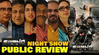 Saaho Movie NIGHT SHOW Public Review   IMAX 2D   Prabhas, Shraddha Kapoor, Chunky Pandey, Jackie S