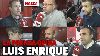Reacción de la prensa a las palabras de Luis Enrique I MARCA
