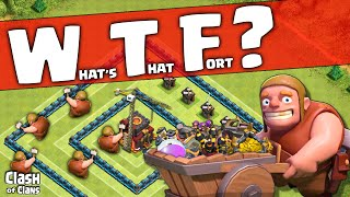 Clash of Clans ♦ WTF - What's That Fort Base Designs in Clash ♦ CoC ♦