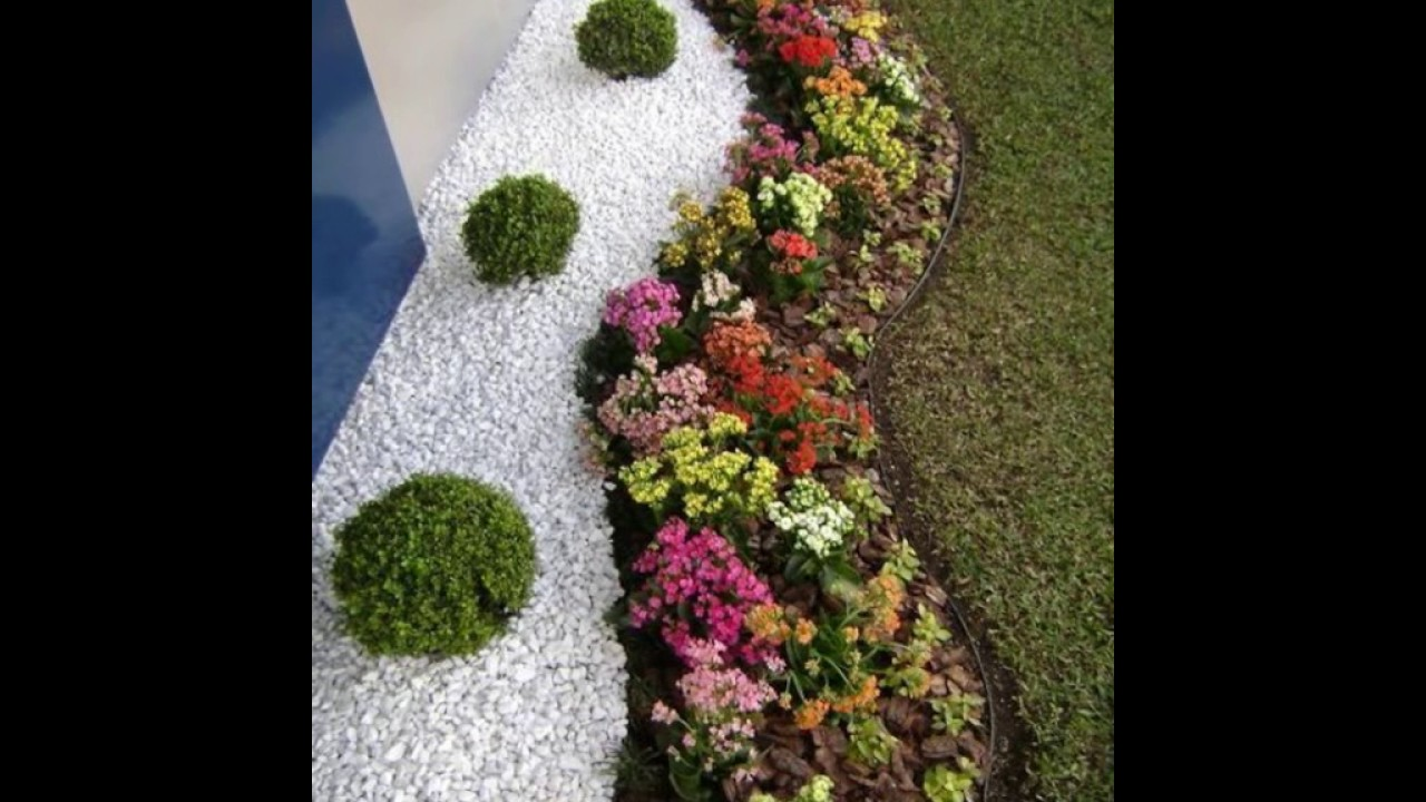 Decoraci n de jardines modernos youtube for Carretillas de adorno para jardin