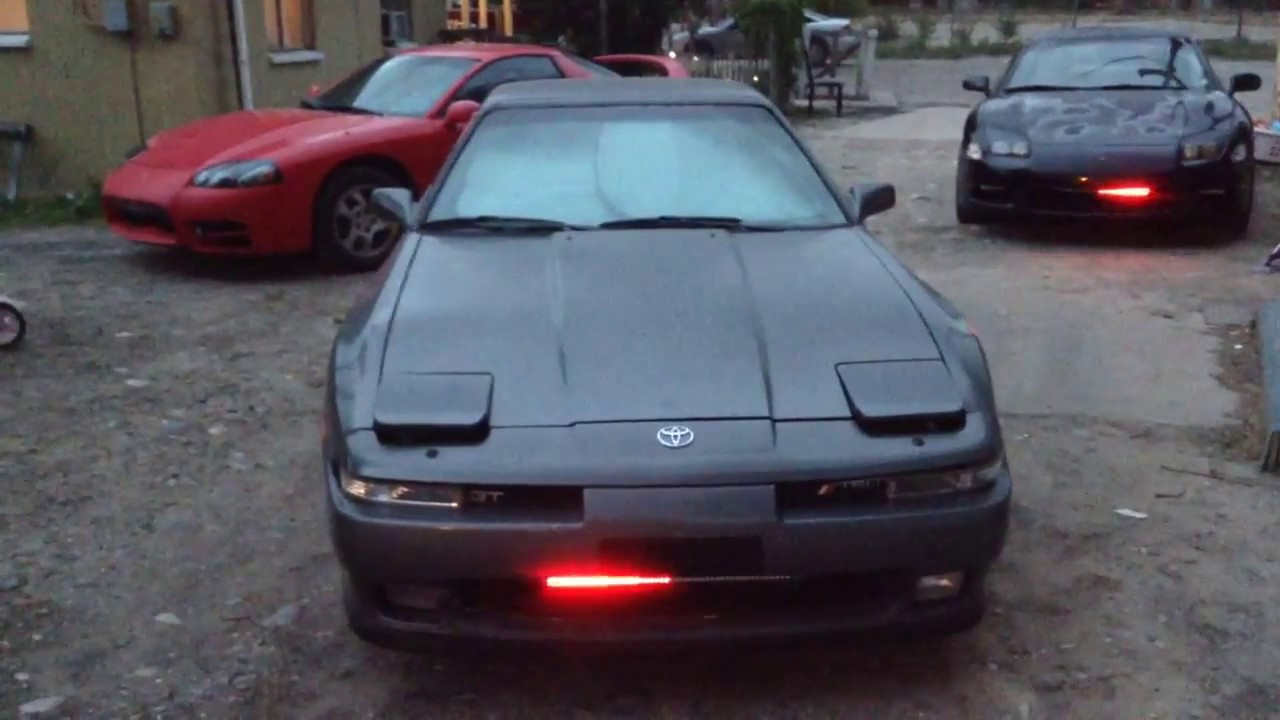 knight rider kitt scanner light supra 3000gt youtube. Black Bedroom Furniture Sets. Home Design Ideas