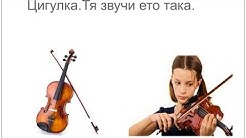 Семейството на струнните музикални инструменти / String family