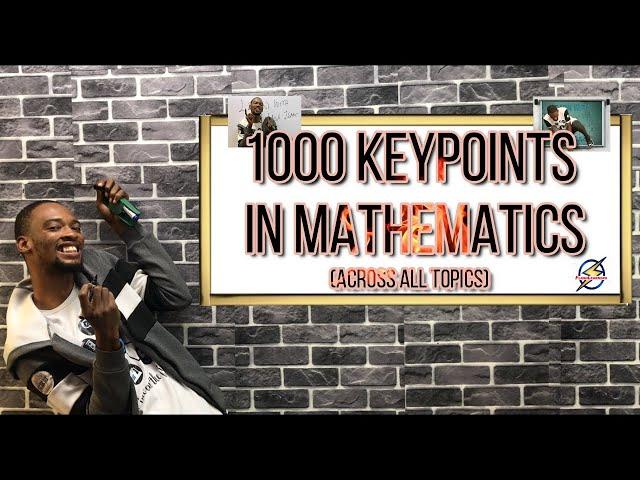 1001 Mathematics KeyPoints For Schools, Jamb & Waec (2021 Prep)