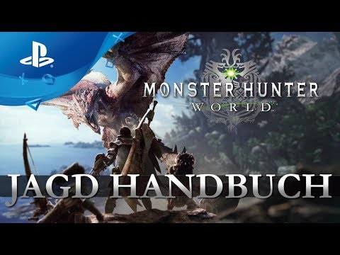 Monster Hunter: World - Jagdhandbuch Video [PS4, deutsch] thumbnail