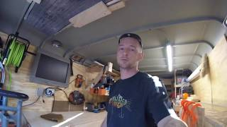 Enclosed tool trailer tour- Walk through