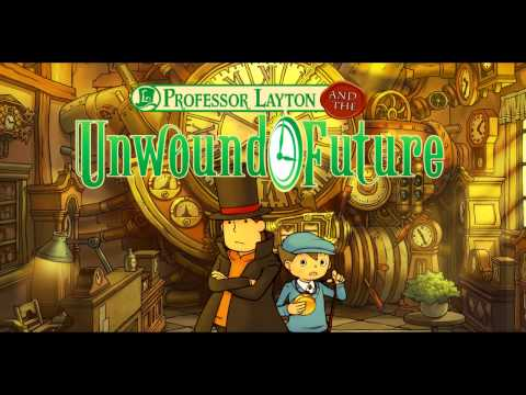 Professor Layton and the Unwound Future OST - Time Travel (US Instrumental Version)