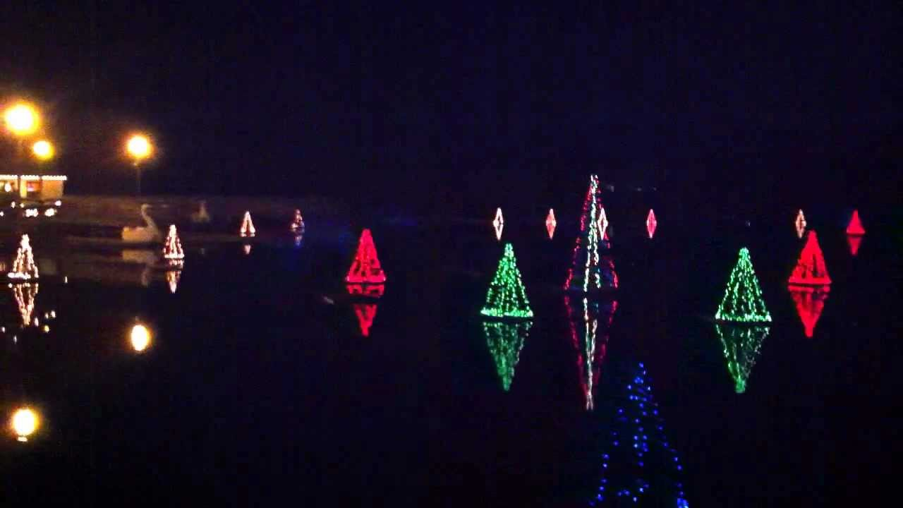 Historic Smithville Light show - YouTube
