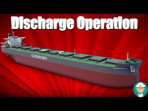 Oil Tanker Discharge Operation