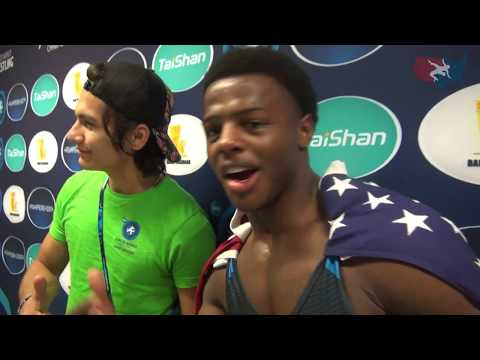 Kamal Bey wins gold at 2017 Junior World Championships