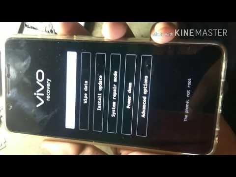 VIVO V7 PLUS Hard Reset and Unlock Password lock