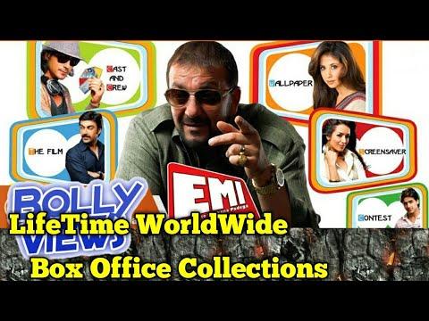 sanjay dutt emi bollywood movie lifetime worldwide box