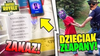 KID CAUGHT BY POLICE FOR SKIN GALAXY IN FORTNITE?! XD how to (NOT) UNLOCK SKINS for FREE