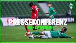 Werder Bremen - Bayer 04 Leverkusen 1:4   Pressekonferenz   SV Werder Bremen