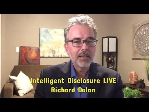 Richard Dolan Intelligent Disclosure (July 12, 2018) Live show