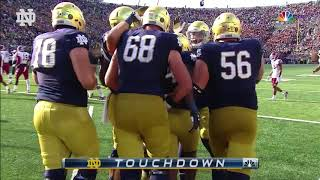 Notre Dame Football vs. Temple Highlights