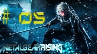 "Metal Gear Rising Revengeance Gameplay ITA Walkthrough Episodio 5 ""Ah rossa che ce dai"