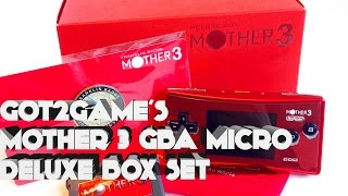 Earthbound 2 (Mother 3) Game Boy Micro Deluxe Box Set Review