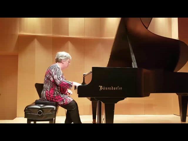 Sylvie joue Lecuona