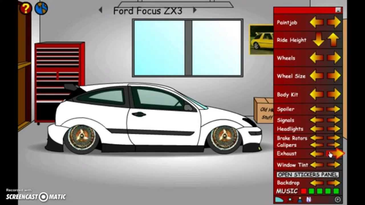tunando ford focus zx3 s rie de tuning youtube. Black Bedroom Furniture Sets. Home Design Ideas