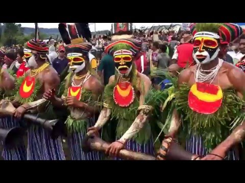 Mind Blowing Massive Tribal Sing Sing Papua New Guinea