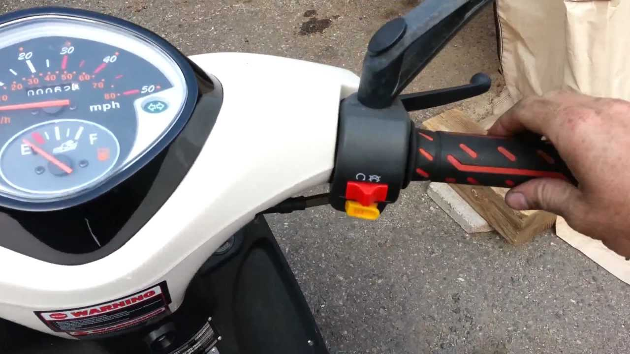 how to adjust the throttle on your scooter or motorcycle [ 1280 x 720 Pixel ]