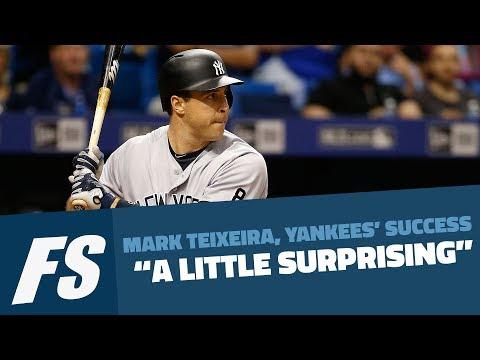 """Mark Teixeira, Yankees' Success """"A Little Surprising"""""""