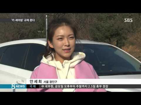 손쉽게 빌리는 '카 셰어링' 가장 주의할 점은? / SBS