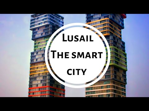 Lusail the smart city of Qatar travel with me
