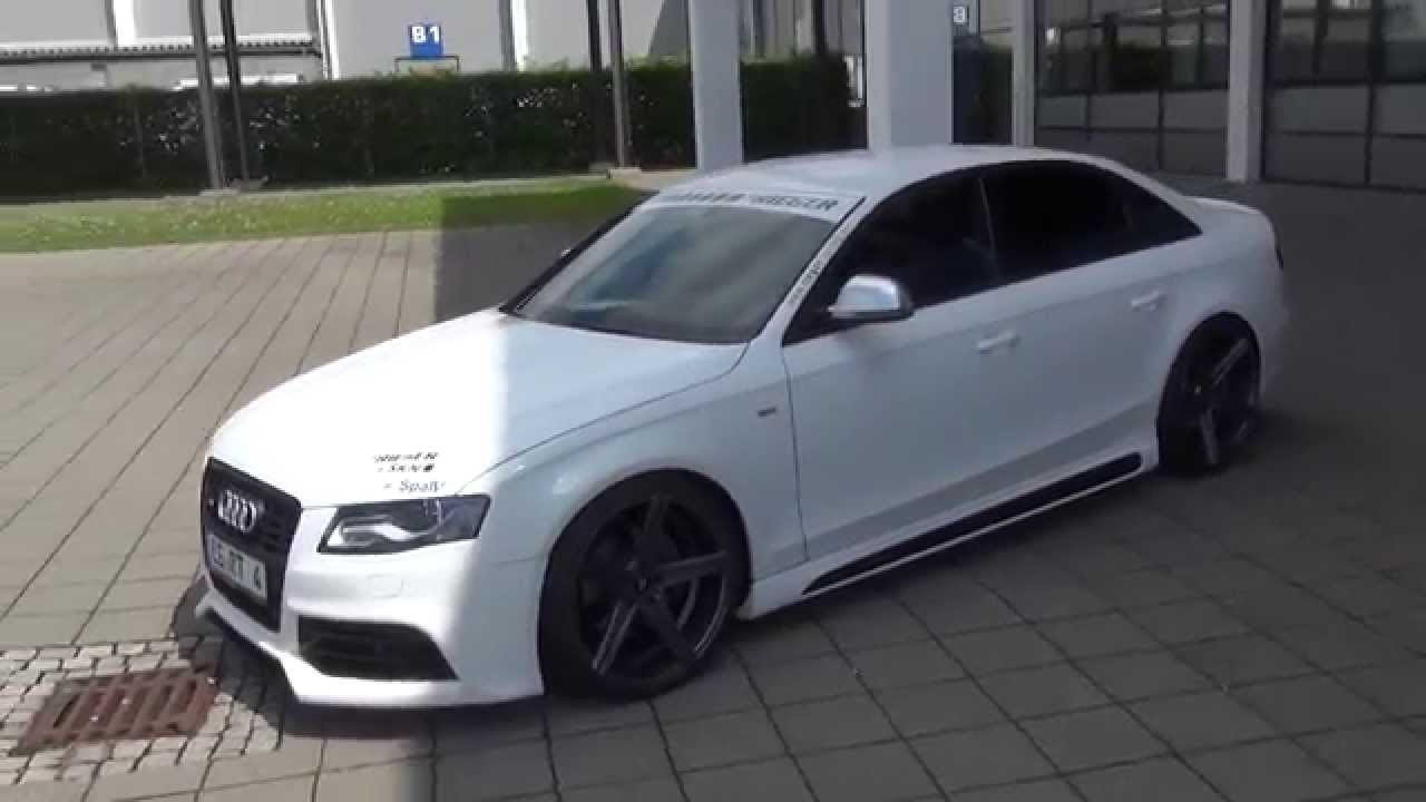 Audi S4 B8 Tuning Skn Chiptuning Rieger Bodykit Youtube