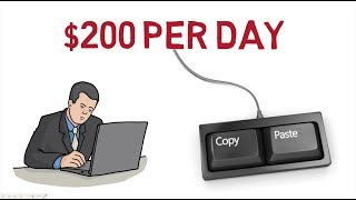 Copy and Paste System - Make Money Online $200 Per Day As Beginner