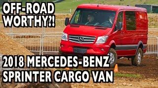 How To Drive Off-Road in 2018 Mercedes-Benz Sprinter 2500 Cargo Van 4x4?