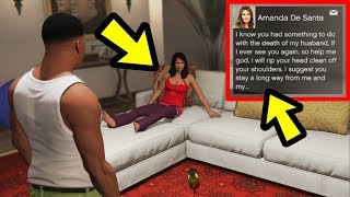 I visited Amanda after taking out Michael.. this happened!