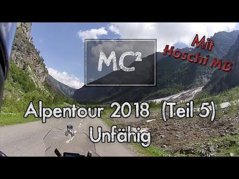 Alpen 2018 (5/25) - Unfähig