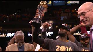 LeBron James ( 詹姆斯 ) Full Highlights 2016 06 20 vs 勇士 G7冠軍賽 奪下隊史首冠